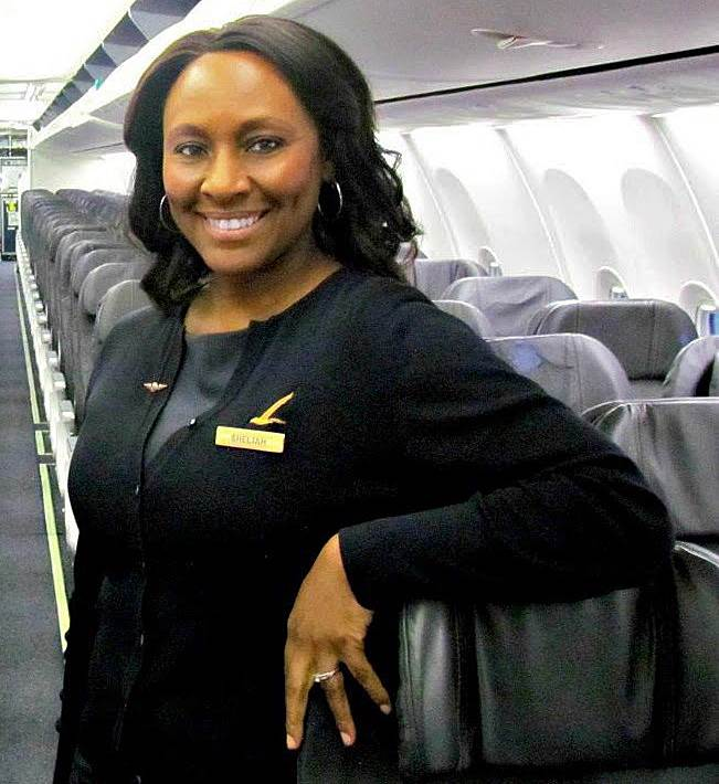 Shelia Fedrick saved a young girl from human trafficking on a recent flight. Image: NBC News supplied by Shelia Fedrick