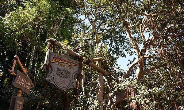 Disneyland Indiana Jones